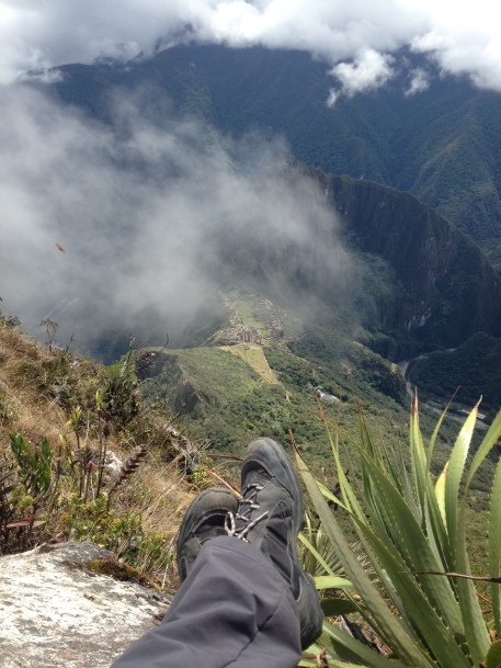 Machu Picchu dall'alto
